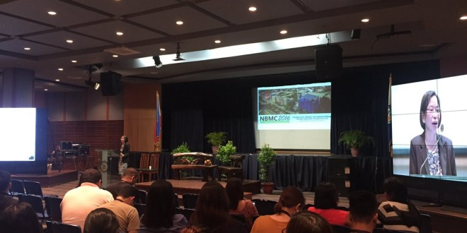 Delegates and speakers convening during the conference. Photo taken from the official Twitter account of Ateneo de Davao University